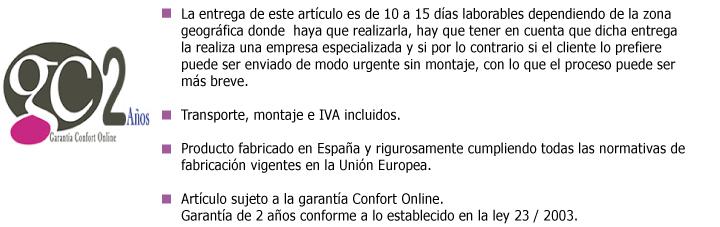 Garantía Confot Online