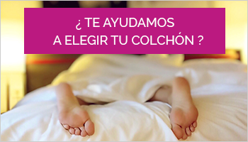 ¿Te ayudamos a elegir tu colchón?